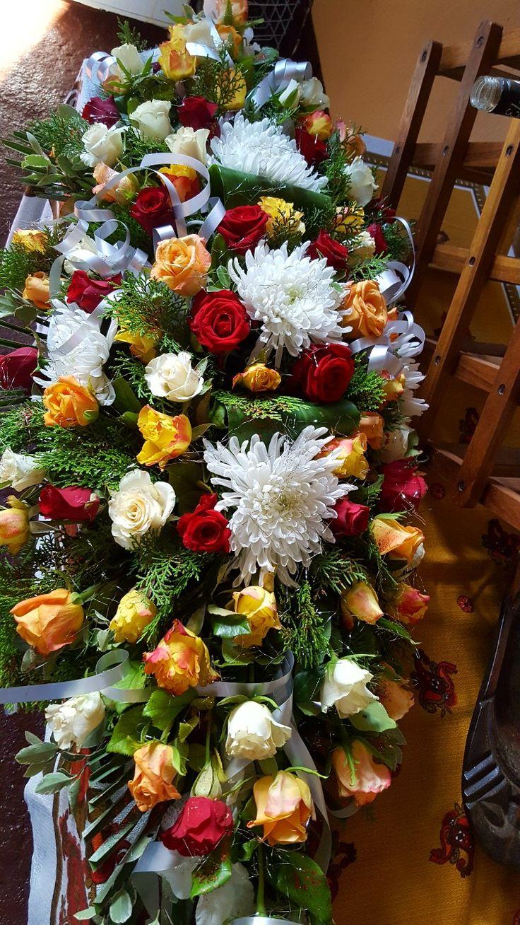 Funeral, by Mariska's florist