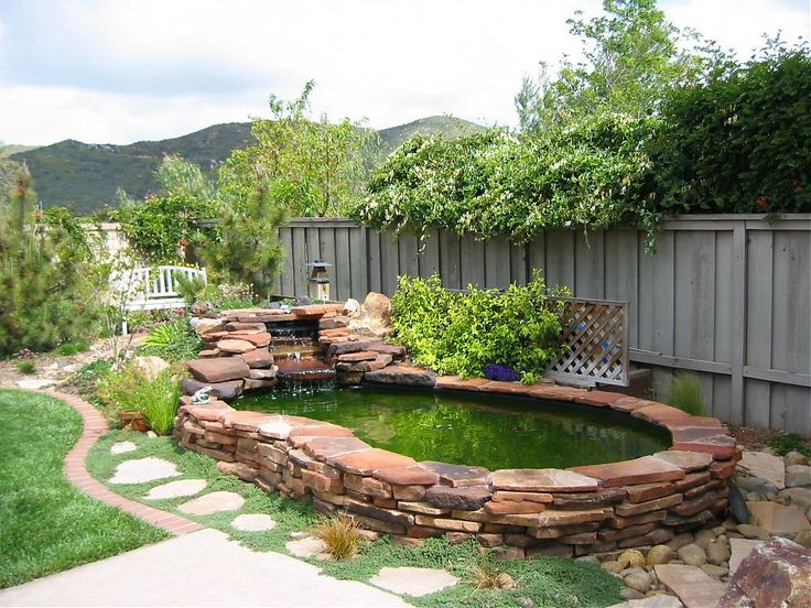 11 best p is for patio, pond, and porch! images on pinterest ... - Patio Pond Ideas