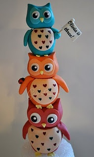 cuteIdeas, Owls Birthday, Hoot Hoot, Parties, Owls Cake, Owl Cakes, Birthday Cake, Owls Toppers, Cake Toppers