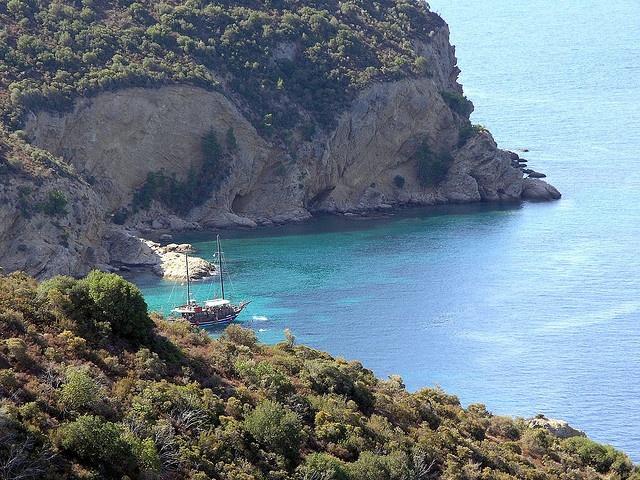 Rugged Coast of #Thassos Island #Greece