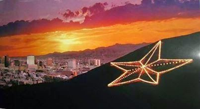 The Gypsy Art Show: World's Largest Man-Made Illuminated Star is in El Paso, Texas