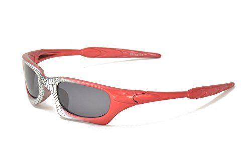 Spider-Man Super Hero Style Kids Biking Cycling Sunglasses for Boys @ niftywarehouse.com