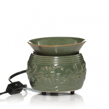 everyday ceramic green denby electric tarts wax melts warmer tarts wax melts warmer