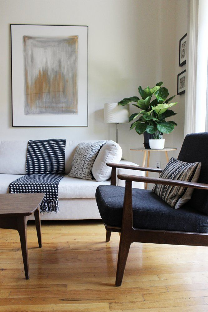House Tour: A 525 Square Foot Vintage Modern Bronx Loft | Apartment Therapy