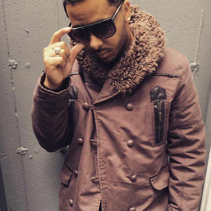 Street fashion, street style, fur coat, shades, nyc, France, Spain, Haiti, Instagram, @gaijin42