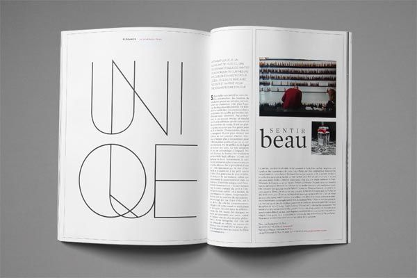 This example shows a new style of page layouts in magazines, placing a huge graphic on one page while inculding all of the visuals and story on the other page. This will appeal visually to our population.