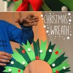 Christmas+Wreath, could also make a smaller size one suitable for a tree decoration