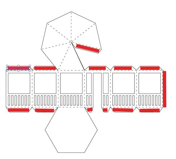 The assembly tutorial for the cutting files for the Gazebo which is a part  of Tea Light Village designed by Marji Roy of 3dcuts.com. These are svg,  pdf, dxf files for use with various cutting machines.