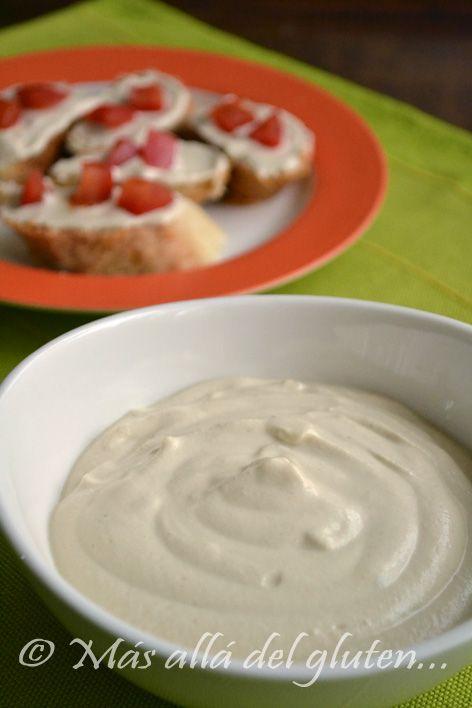 Queso cremoso de nuez Marañón o anacardos  | #Receta de cocina | #Vegana - Vegetariana ecoagricultor.com