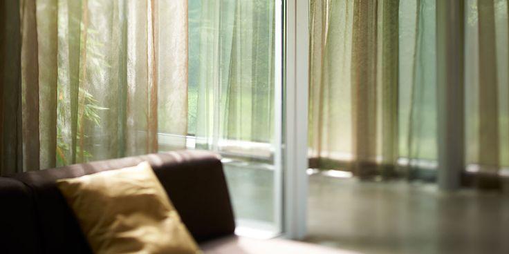 Transparante inbetween gordijnen | House & Home