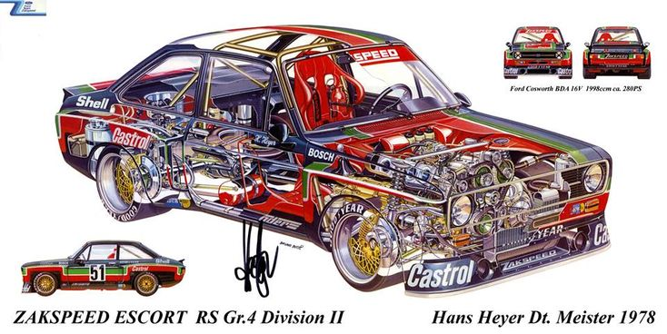 ZAKSPEED Ford Escort RS Gr.4 Division2 `1978