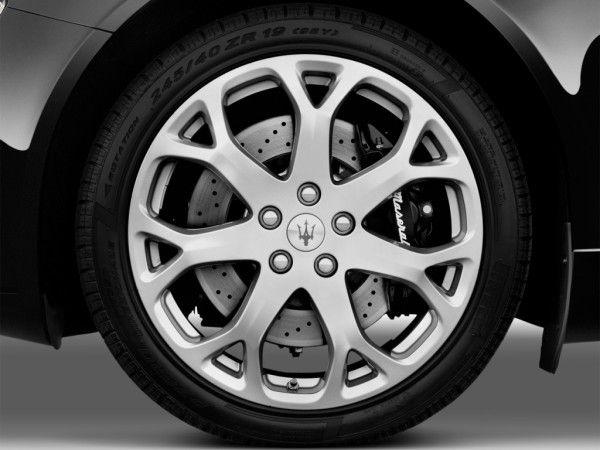 2014 Maserati Quattroporte S Q4 Wheels