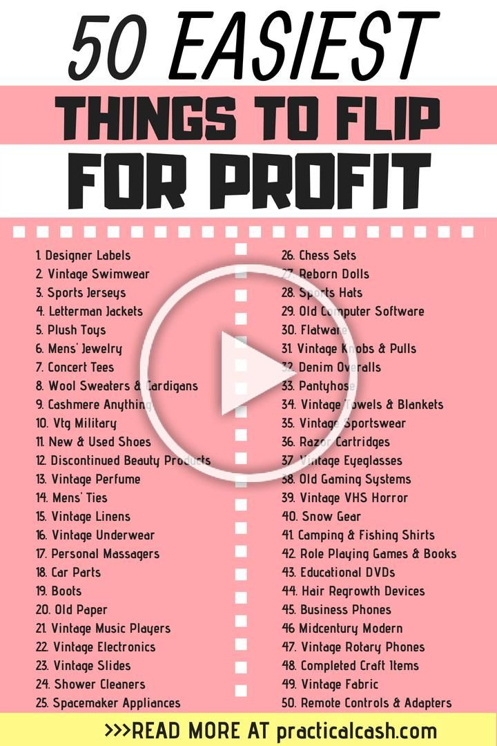 Make Money Online By Flipping Items For Profit And Selling Them