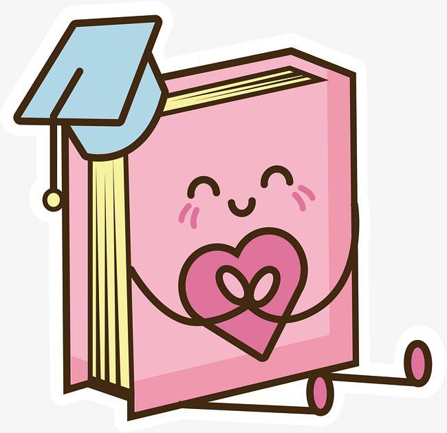 Libro Rosa De Dibujos Animados Vector Png Libro Libros De Dibujos Animados Png Y Psd Para Descargar Gratis Pngtree Dibujos De Libros Animados Imagenes De Libros Animados Libros Animados