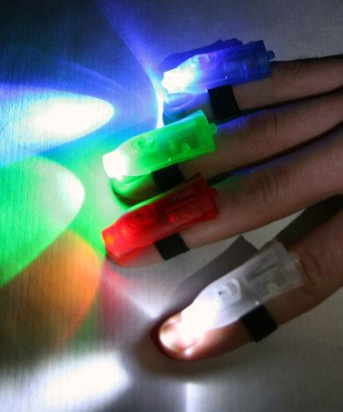 Finger Light - Set of 32 PERFECT to motivate the reluctant reader!  #zulily #zulilyfinds #ad