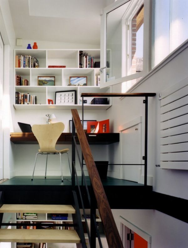 20 Cool And Stylish Home Office In A Closet Ideas