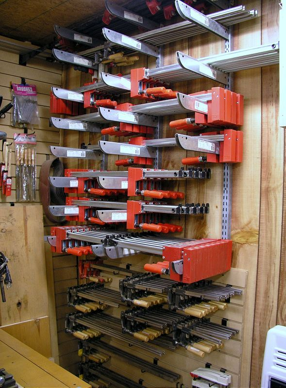 100 Ideas To Try About Workshop Clamp Storage Shop