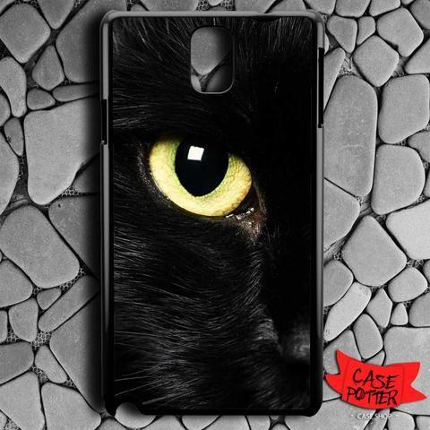 Black Cat Eye Samsung Galaxy Note 3 Black Case
