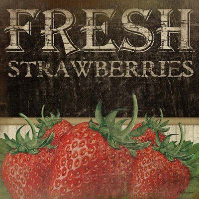 Lovely Vintage Strawberry Pictures for the Home | WebNuggetz.com