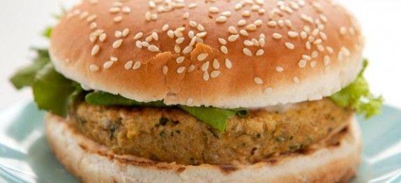 Hamburger di fagioli di soia