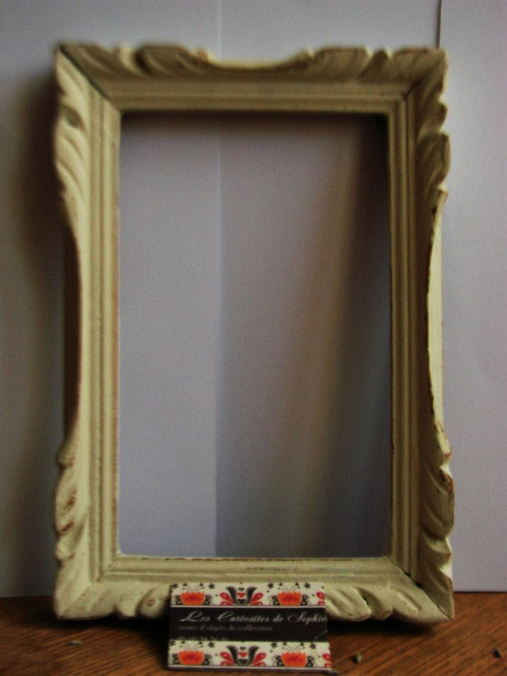 1000 id es propos de peindre des cadres de miroir sur - Cadre photo a peindre ...