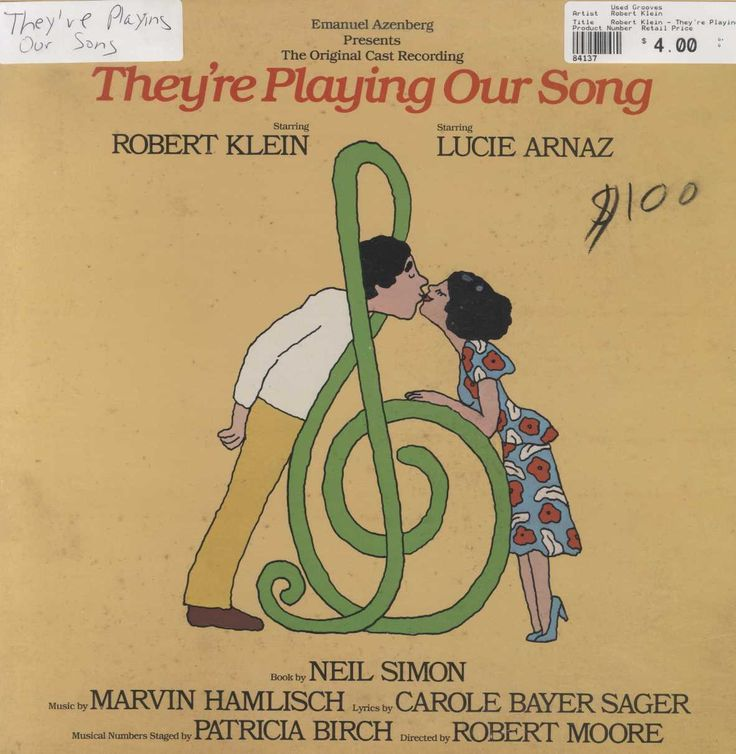 Robert Klein - They're Playing Our Song