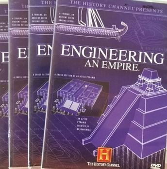 This bundle includes video guides for three exciting episodes of The History Channel's popular Engineering an Empire videos including China, Egypt, and Persia. These episodes are available on YouTube, or DVDs can be purchased from the History Channel, or