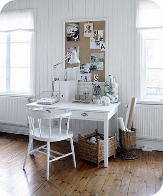 Shabby Chic Ireland: Romantic Shabby Chic - Office space