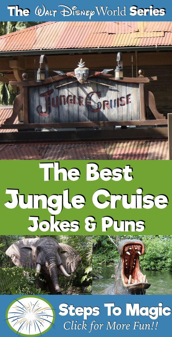 Top 10 Jungle Cruise Puns My New Office Pinterest Cruise
