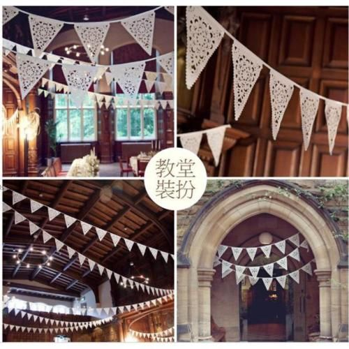 Triangle flags pennant party garland valentine's #wedding #festival #decoration j,  View more on the LINK: 	http://www.zeppy.io/product/gb/2/201388866746/