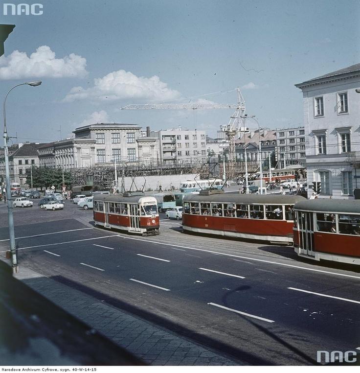 Plac Dzierżyńskiego w Warszawie, 1969.