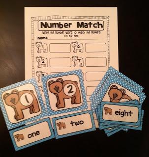 Brown Bear Math Center