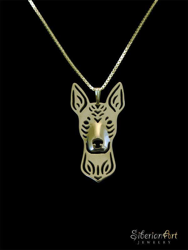 Xoloitzcuintli jewelry  gold vermeil 18k by SiberianArtJewelry, $120.00