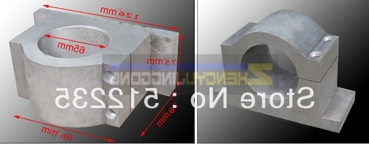 36.00$  Watch here - https://alitems.com/g/1e8d114494b01f4c715516525dc3e8/?i=5&ulp=https%3A%2F%2Fwww.aliexpress.com%2Fitem%2FEngraving-machine-fittings-cast-aluminum-65mm-spindle-fixture%2F568330067.html - 65mm clapms cnc spindle mounts  spindle bracket CNC machine fittings cast aluminum 65mm spindle fixture