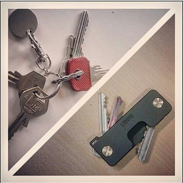 Good job on slimming down on your keys  #fantribute #liquidco #keycaddy