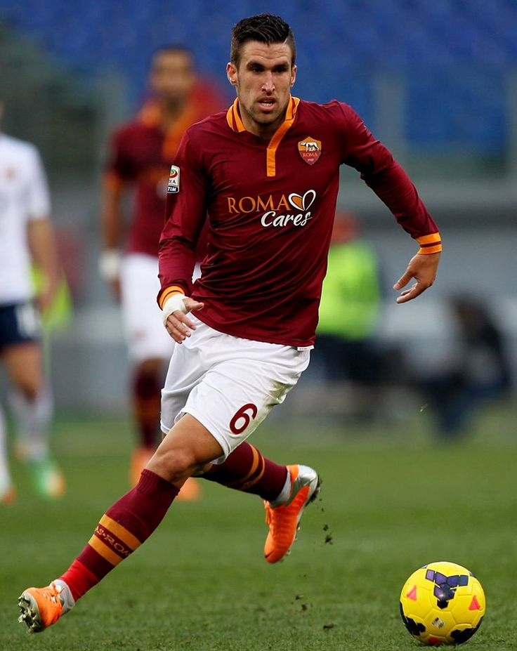 AS Roma midfielder Kevin Strootman.