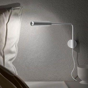 Vibia swing licht verlichting lamp leeslamp - Lamparas lectura cama ...