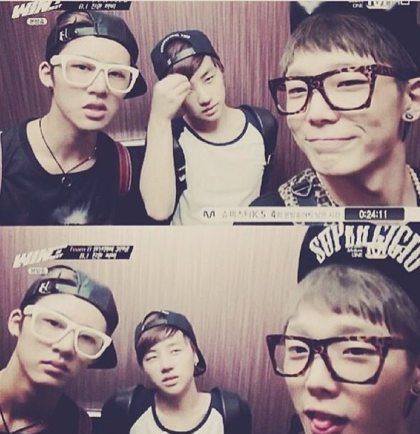 iKon. :) These 3 - adorbs. (Little brother-type adorbs, that is)