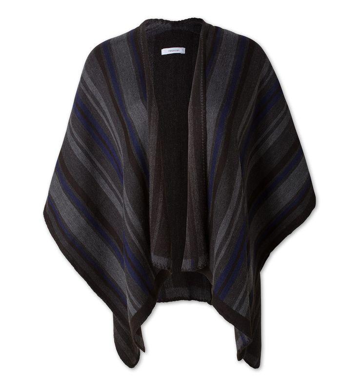 Damen Poncho in dunkelgrau - Mode günstig online kaufen - C&A       39 Euro (Stand Oktober 2016); Material: 56 % Polyester 44 % Polyacryl