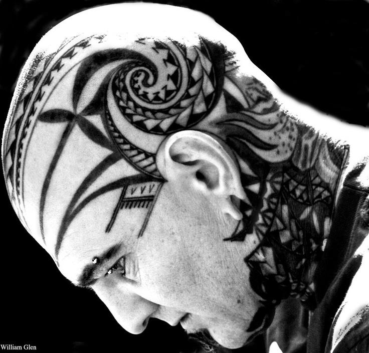 head #tattoo