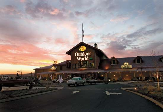 Bass Pro is located in the Kodak area of Sevierville at Exit 407.