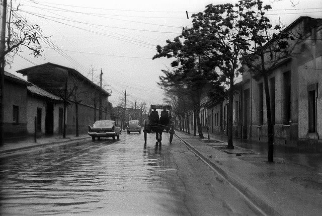 Santiago. Calle Lira, 1962.