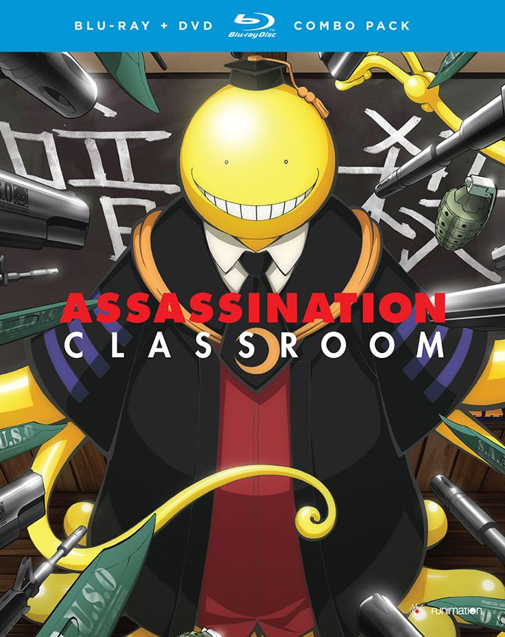 BackAbout Assassination Classroom Season 1 Part 2 Blu-ray/DVD From the studio behind Danganronpa and Monster Musume comes Assassination Classroom! After the battle with Itona, the students of Class 3-E settle back into a normal routine. Well, normal for a class filled with would-be assassins! As the weather turns warm, the class can't afford to laze about, and up their training under the guidance of Karasuma. But with the semester already half over, the government decides to send a new…
