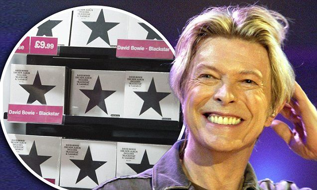 David Bowie scores first number one album in the US with Blackstar