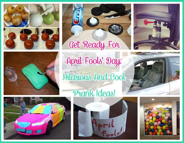 Get Ready For April Fools' Day: Hilarious And Cool Prank Ideas! | Just Imagine - Daily Dose of Creativity