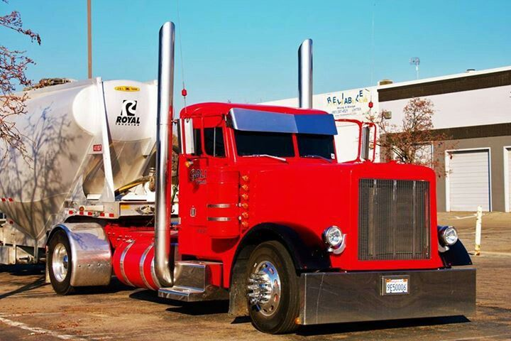 Peterbilt 359 day cab single axle | Hot rigs ! | Pinterest ...