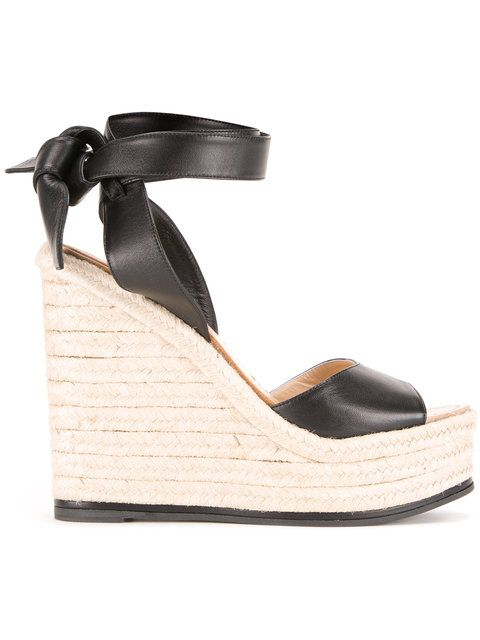Shop Paul Andrew ankle length braided sandals .