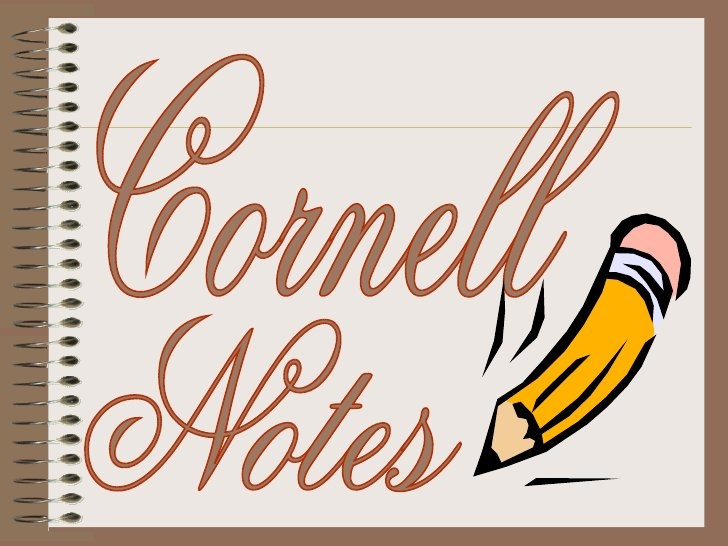 Cornell Notes Student Ppt Very Specific by msmena, via Slideshare