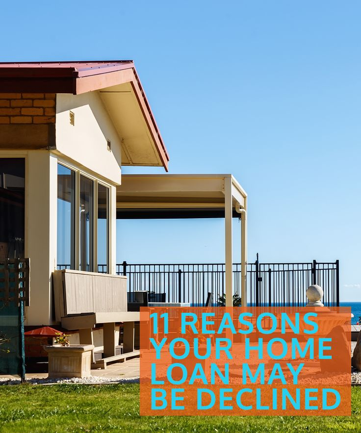 Many lenders in Australia are quite strict when it comes to allowing people to borrow money for a home and chances are one of these 11 reasons will be the basis for why your application is knocked back.