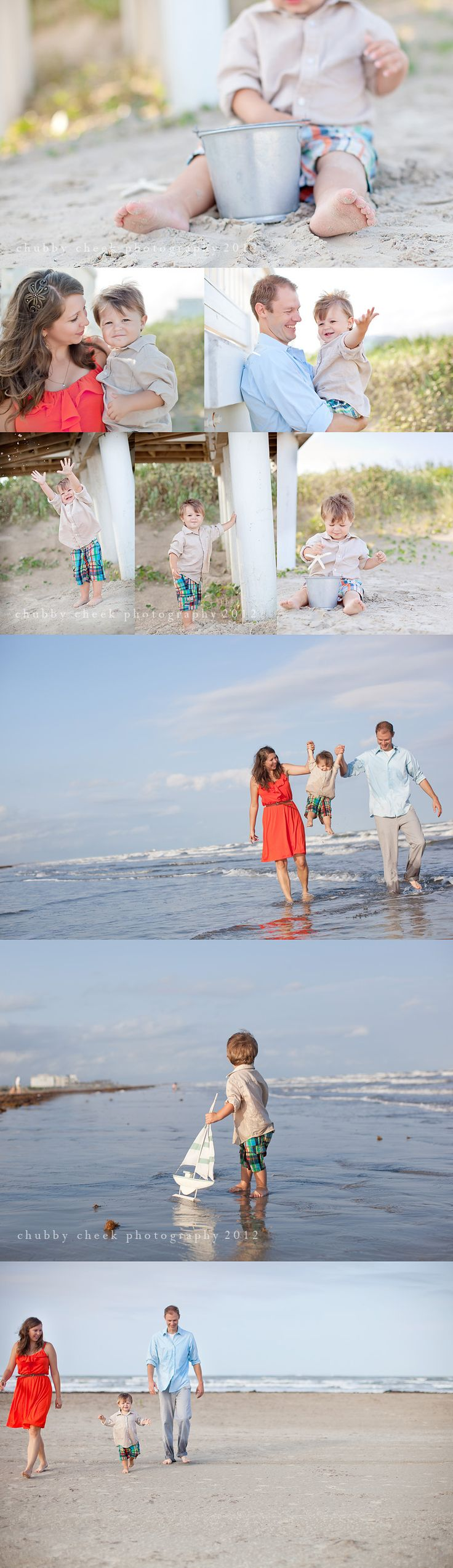 Fun Summer #family #photo #session at the beach.    ©Chubby Cheek Photography @The Fort, #RisingStar